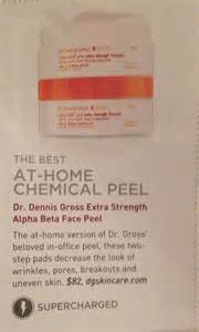 at home chemical peel troubled skin