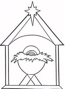 baby jesus manger coloring az coloring pages