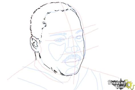draw martin luther king jr drawingnow