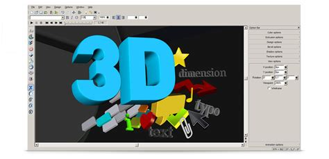 3d text design software free create your 3d logo with xara 3d maker 7