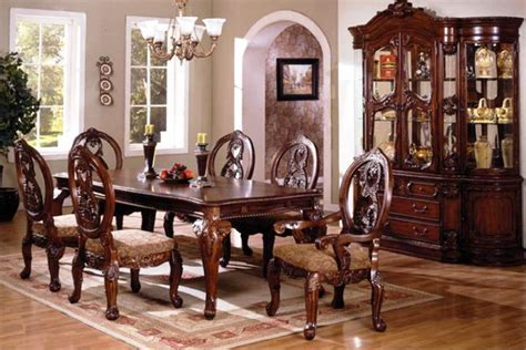 large dining room set formal dining room sets for those who love the formal