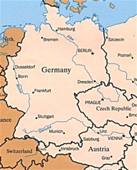 map germany austria germany austria map quotes