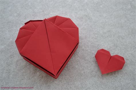 Origami Haert - lets make origami box