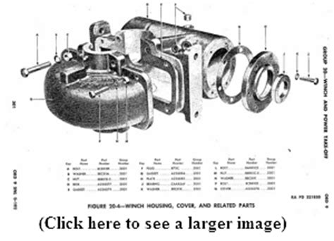 tulsa winch parts diagram tulsa winch model 18g