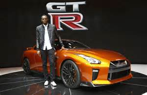 usain bolt new car usain bolt still a fan of the nissan gt r