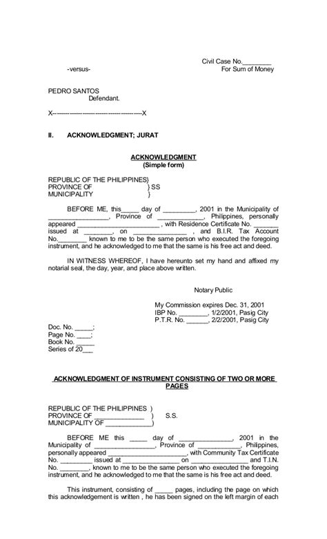 Metro Divorce Letter Forms Of Philippines
