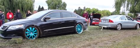 volkswagen cc all wheel drive awd vs fwd volvo s60 r rescues vw passat cc from the mud