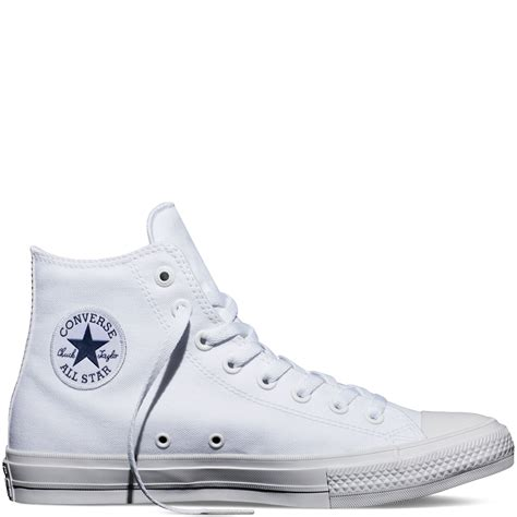 Converse All High Chuck Ii White chuck all ii high top white converse australia