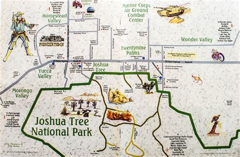 joshua tree park map my guide to joshua tree california wendy on a whim