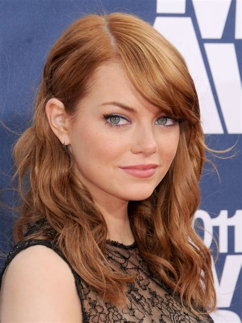 2016 emma stone hair color trends 17 best images about hairstyles on pinterest women hair