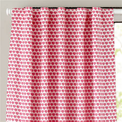 heart curtains for kids kids curtains pink hearts curtain panels 63 pink hearts