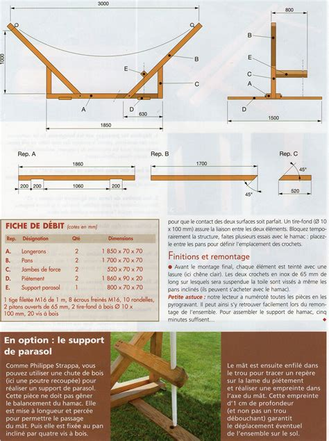 Support De Hamac En Bois by Comment Se Fabriquer Un Support De Hamac Trucs Et