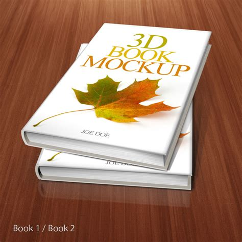 3d book mockup by srvalle on deviantart