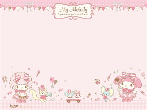 Mukena My Melody Sweet Pink my melody my melody sanrio and scrap