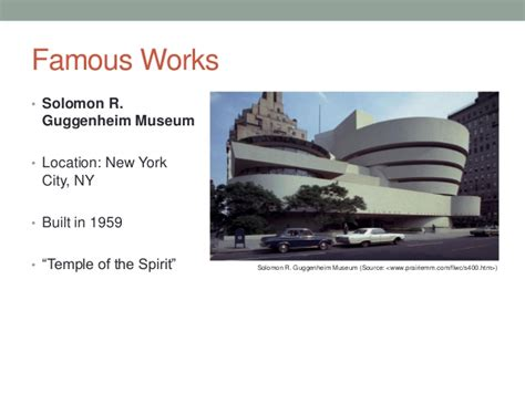 frank lloyd wright biography ppt frank lloyd wright presentation