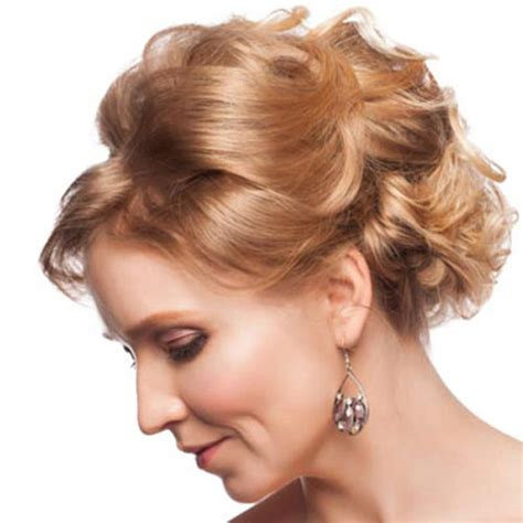 wedding hairstyles mother for curly hair 28 elegant short hairstyles for mother of the bride cool