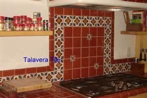 Mexican Tile Countertops by Talavera Tile Kitchen Countertop Mexican Style Tile