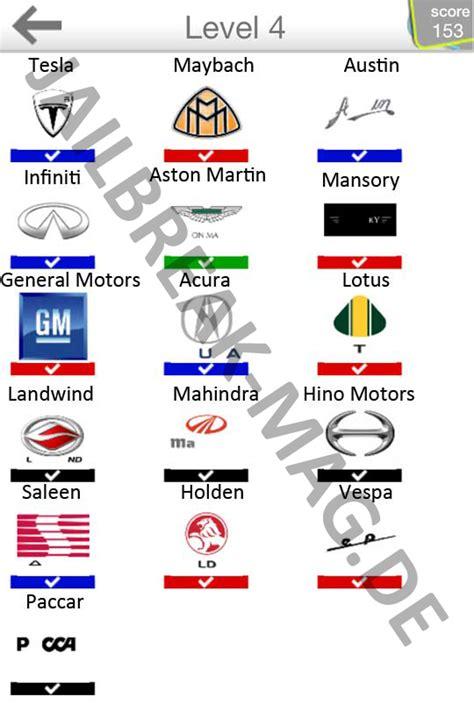 Auto Logo Quiz Level 6 by Car Logo Quiz Level 4 5 6 L 246 Sung App Blog