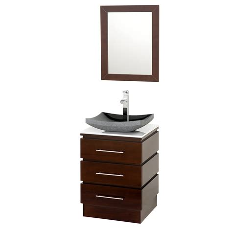 Bathroom Vanities Espresso 22 Quot Rioni 22 Espresso Bathroom Vanity Bathroom Vanities Bath Kitchen And Beyond