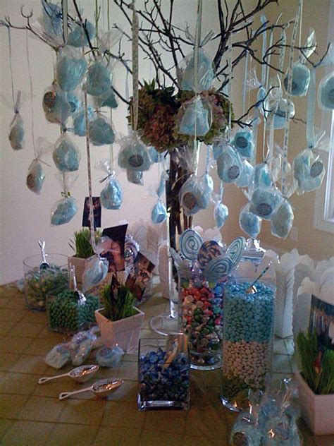 Sweet Centerpieces Florida Weddings Tables Decor Cotton Tree And Table Ideas