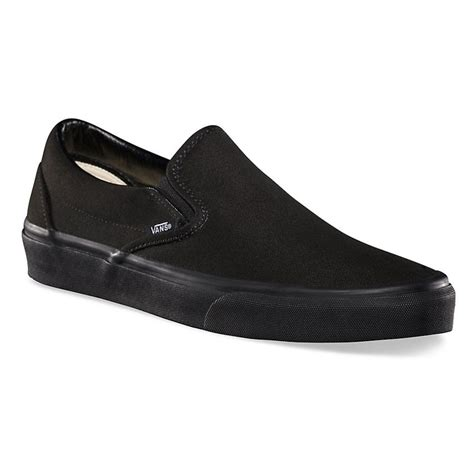 Vans Slip On Black sneakers vans classic slip on black black snowboard zezula