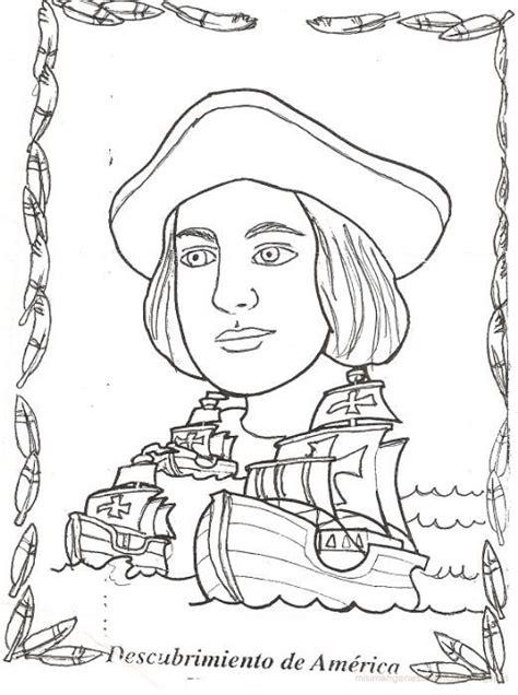 dibujos de cristobal colon y sus barcos cristobal colon y sus tres carabelas manualidades