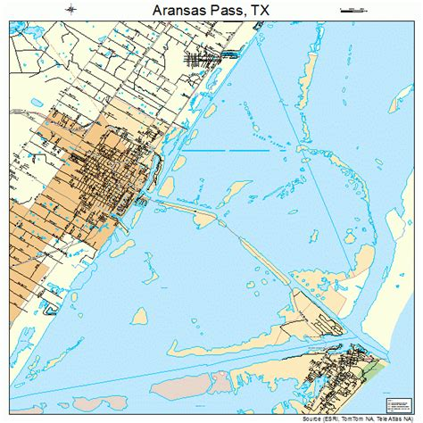 aransas pass texas map aransas pass texas map 4803600