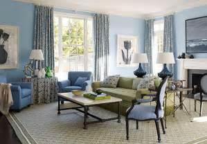 blue and beige living room fionaandersenphotography