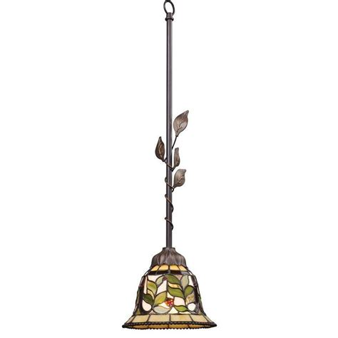 tiffany pendant lights kitchen titan lighting latham 1 light tiffany bronze ceiling mount