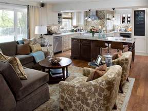Open Floor Plan Kitchen And Living Room by Open Kitchen Design Pictures Ideas Tips From Hgtv Hgtv