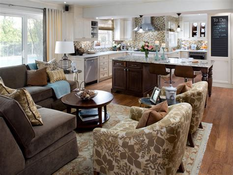 Open Floor Plan Kitchen And Family Room by Open Kitchen Design Pictures Ideas Amp Tips From Hgtv Hgtv