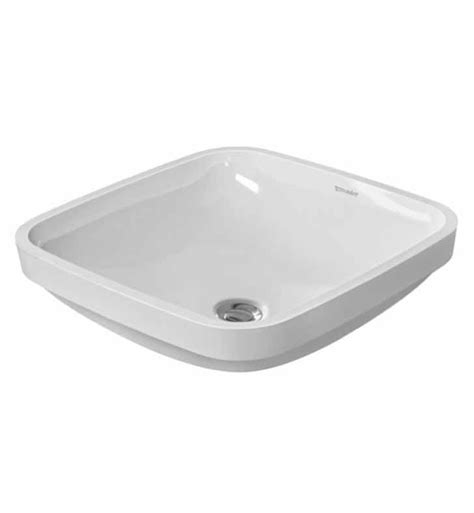 duravit bathroom sinks duravit 0373370000 durastyle 14 5 8 inch undermount
