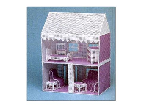 doll house pattern plastic canvas dollhouse pattern easy beginners doll house and