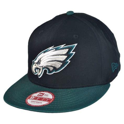 nfl hats new era new era philadelphia eagles nfl 9fifty snapback baseball