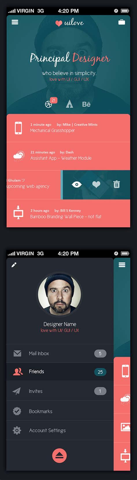 app design on behance uilove app design on behance