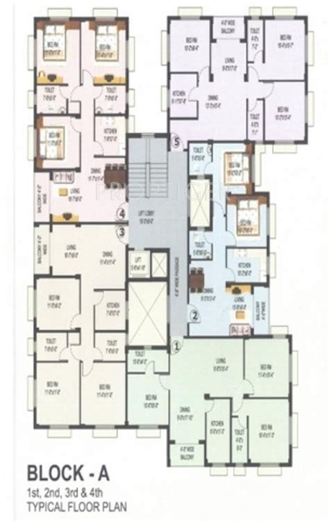 1300 sq ft apartment floor plan 1300 sq ft 3 bhk 2t apartment for sale in argosy