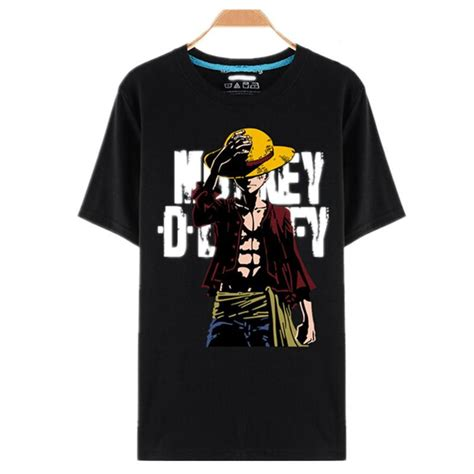 Kaos 3d One Monkey D Luffy wholesale one t shirt luffy straw hat japanese anime