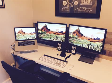 Home Design Programs For Mac mac setup triple display macbook pro workstation