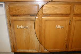 refinish kitchen cabinets before and after small kitchen