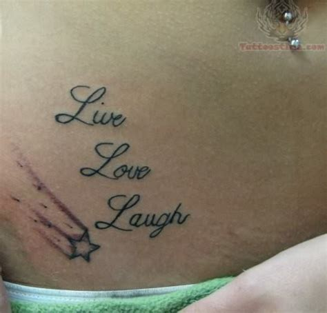 live laugh love tattoo word images designs