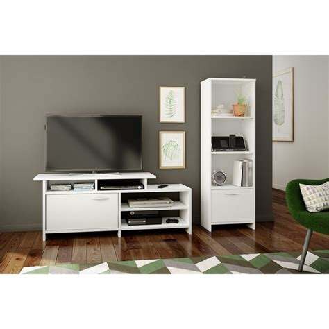 South Shore Step One 4 Shelf Bookcase In Pure White 10249 South Shore White Bookcase