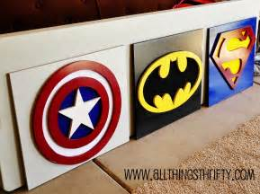 delightful Stickers For Walls For Kids Rooms #3: Super+Hero+Wall+Art.jpg