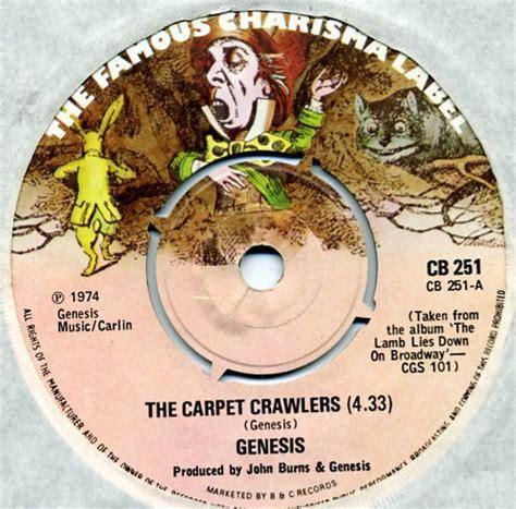 genesis the carpet crawlers genesis the carpet crawlers at discogs