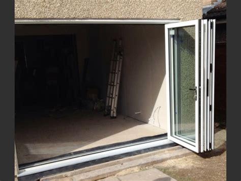 Patio Doors 2090 X 2090 2990 X 2090 White Aluminium Bi Folds Folding Doors 2 U