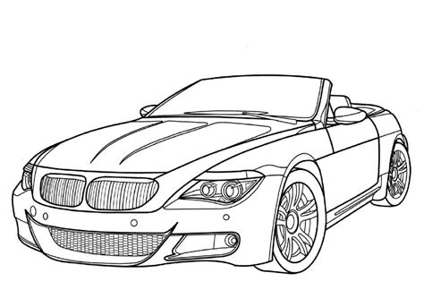 big car coloring page cars coloring pages for kids coloring home