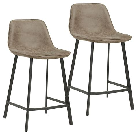 genuine leather bar stools canada nspire metal walnut parson armless bar stool with grey