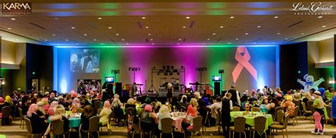 themed charity events karma event lighting for weddings and special events