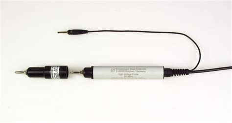 high voltage capacitor discharge probe voltage probes