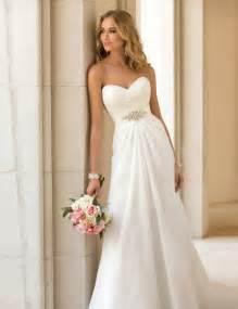 vestido de novia vestidos de novia chiffon beach wedding dress vintage boho cheap wedding dress 2015 robe de