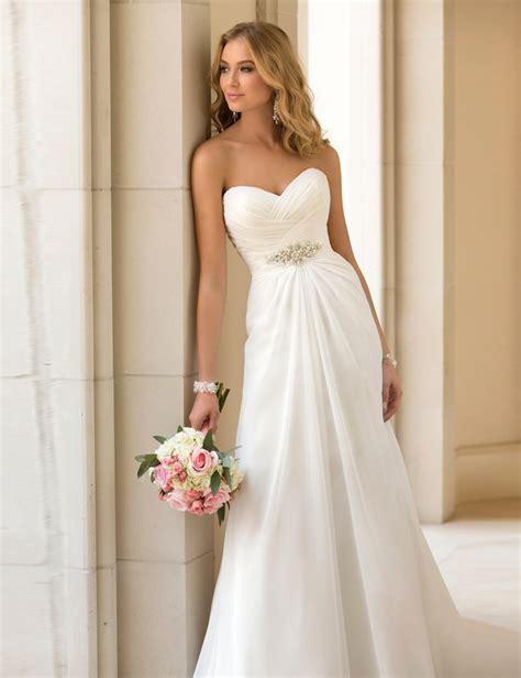 vestidos de novia sexy chiffon beach wedding dress vintage boho cheap wedding dress  robe de